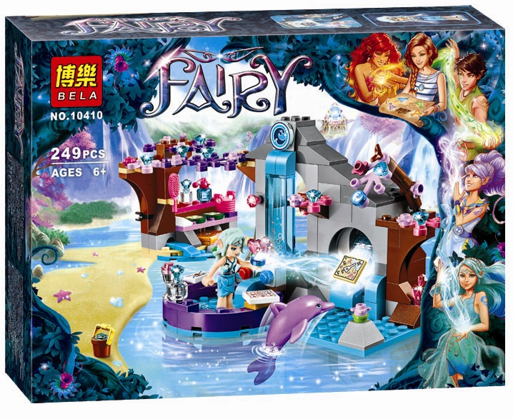 2017 New Original BELA Girl Naidas Spa Secret Building Blocks Friends 249pcs/Set Diy Educational toys Compatible Legoe Elves<br><br>Aliexpress