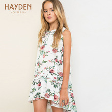 Buy HAYDEN teenagers girls summer dress flower costumes princess 10Y teenage girl clothes girls 13 years teens fashion clothing for $18.76 in AliExpress store