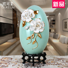 Modern minimalist Home Furnishing soft decoration living room model room decoration ceramic white gift table shoe(China)