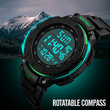 SKMEI Sport Watches Men Top Brand Fashion Electronic LED Digital Watches Chrono Countdown Men's military Clock Relogio Masculino(China)