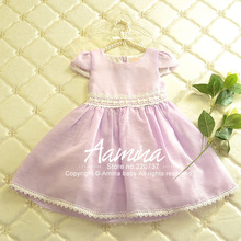 Buy Aamina Purple baby girls dresses, 2016 summer brand baby girl kids clothes,wholesale children clothing 5 pcs/lot--P2101163 for $67.00 in AliExpress store