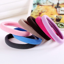 25pcs/bag 2015 New Fashion Child Baby Kids Ponytail Holders Hair Accessories For Girl Rubber Band Tie Gum (Mix Color)