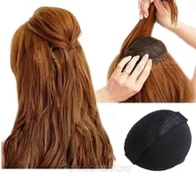 Hot Sale Magic Hair Updo Tuck Comb Wear Volume Pad Velcro Girl Women DIY Styling Tool Black Pretty Hair Comb Accessories