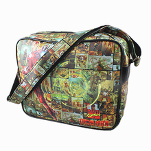 Iron Man Handbags Shoulder Small bag Messenger Bags Captain America Spider Man/ Thor/Superman/flash/Simpson Shoulder Bags