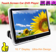 "New Design Stylish Black LED Digital Touch Screen 10.1"" Car DVD Player DVD Automotivo with IR FM USB SD Game Joystick"