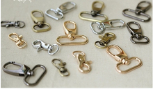 DIY handmade bag buckle accessories lobster clasp key hanging buckle 4 color 6 size choices 12pcs lot