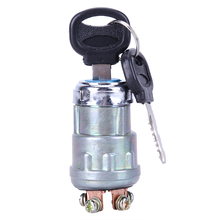 Universal 12V Car Boat Motorcycle Ignition Starter Key Switch Barrel 4 Position With 2 Keys for Petrol Engine High Quality(China)