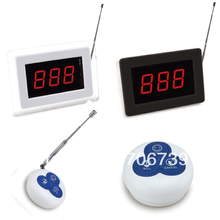 LED Display Wireless Calling System Waiter Server Paging System for Restaurant