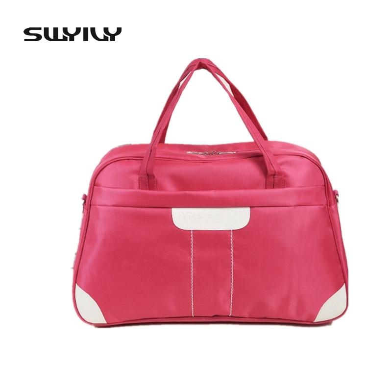 SWYIVY New Oxford Cloth Waterproof Gym Bag Men Travel Bags Women Luggage Travel Duffle Bags Fitness Training Shoulder Sport Bag