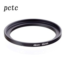 PCTC 2PCS 49mm-55mm 49 to 55  Macro Reverse Ring Filter Adapter for 49 to55 mm lens Mount For extension tubes adapter