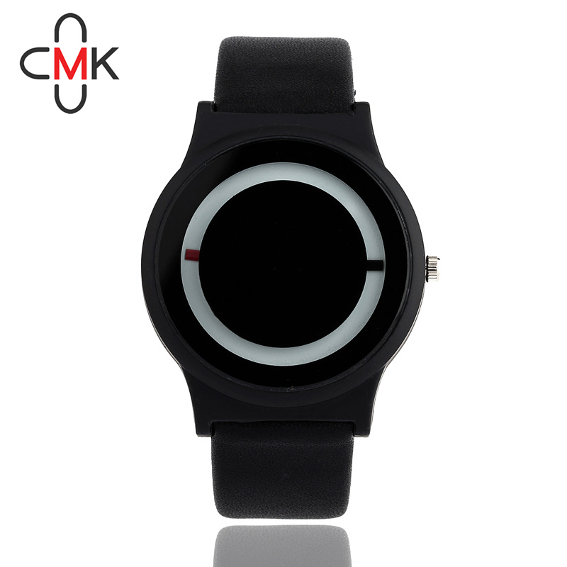 CMK brand Mens Luxury Creative Mens casual Watches leather Business Quartz watch Gents Military Wristwatch lovers clock hours<br><br>Aliexpress