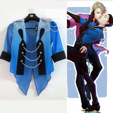 Yuri on Ice Yuri Katsuki New Blue sports clothes Cosplay Yuri!!! on Ice Costume Customize Free Shipping(China)