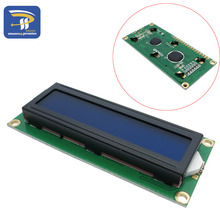 LCD (Blue Screen) 5V LCD with backlight of the LCD 1602 screen module 16x2 LCD for 51 learning board(China)