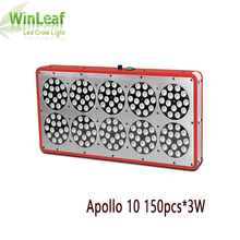 led Grow light Apollo 10  Full Spectrum 150pcs*3W For Indoor Plants Hydroponic greenhouse System High Efficiency