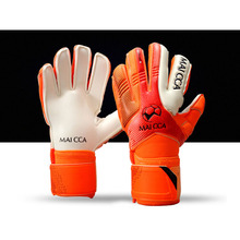 MAICCA Children Football goalie gloves latex finger protector Professional Soccer goalkeeper glvoes kids training Wholesale(China)