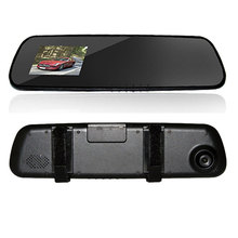 Car DVR Rearview Mirror Camera 2.4 Inch LCD 30FPS HD 140 Degree Car Camera Recorder Night Vision