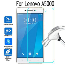 Tempered Glass Cover For Lenovo A5000 Screen Protector Film For Lenovo A 5000 Mobile Phone 9H Toughened Protective Film Cover(China)