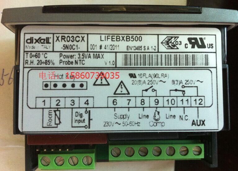XR03CX 5N0C1 New electronic temperature controller elf refrigerator ...