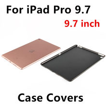 "Case For Apple iPad Pro 9.7 Protective Smart cover Protector Leather For iPad Pro9.7 PU Tablet 9 7"" Plastic shell Sleeve Covers"