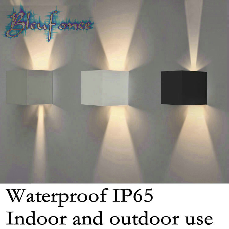 Modern Brief Cube Adjustable Surface Mounted 7W LED Wall Lamps Outdoor Waterproof IP65 Aluminum Wall Lights Garden Lights<br><br>Aliexpress