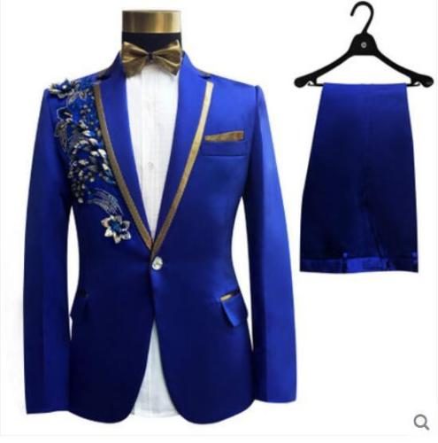 Custom-Made-embroidery-white-ivory-pink-blue-Mens-Suits-With-Pants-Groomsmen-Groom-Tuxedos-Wedding-Men