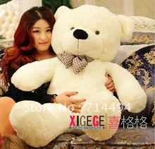 1.2m- Plush toys large size120cm / teddy bear 1.2m/big embrace bear doll /lovers/christmas gifts birthday gift free shipping