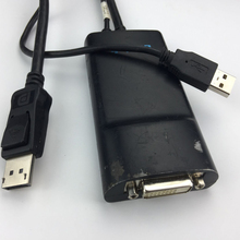 Active Displayport to DVI-D dual link cable up to 2560X1600 supported(cable is used)(China)