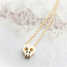 Simple Lovely Skull Necklace Jewelry. Punk Style Casual Skull Necklace Jewelry. Personality Locomotive Female Necklace Jewelry