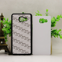 EHHT for SAMSUNG GALAXY A510 J5 Prime    2D Soft  Rubber TPU DIY sublimation case with aluminium metal sheet Glue 100pcs/lot