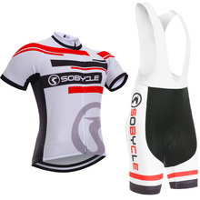 New arrival stripes team pro Cycling wear pro Bike shorts set Mans summer cycling shirts tops Ropa Ciclismo Sportswear
