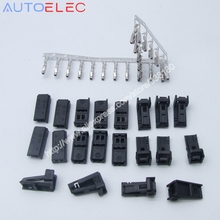 Volkswagen 4B0 971 832 wire harness female plug refires accessories Car door lamp connector License Plate lights Audi LED(China)