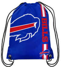 Buffalo Bills High Quality Polyester Fabric Men Drawstring Backpack Bags Digital Printing Pouch 35*45CM Sports Fan Flag(China)