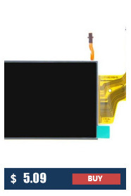 New original LCD Display Screen For Canon Powershot SX610 HS ; SX720 HS ; PC2191 PC2272 Digital camera With backlight