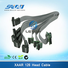 On sales!!!Xaar 126 Head Cable added connector xaar head data cable(China)