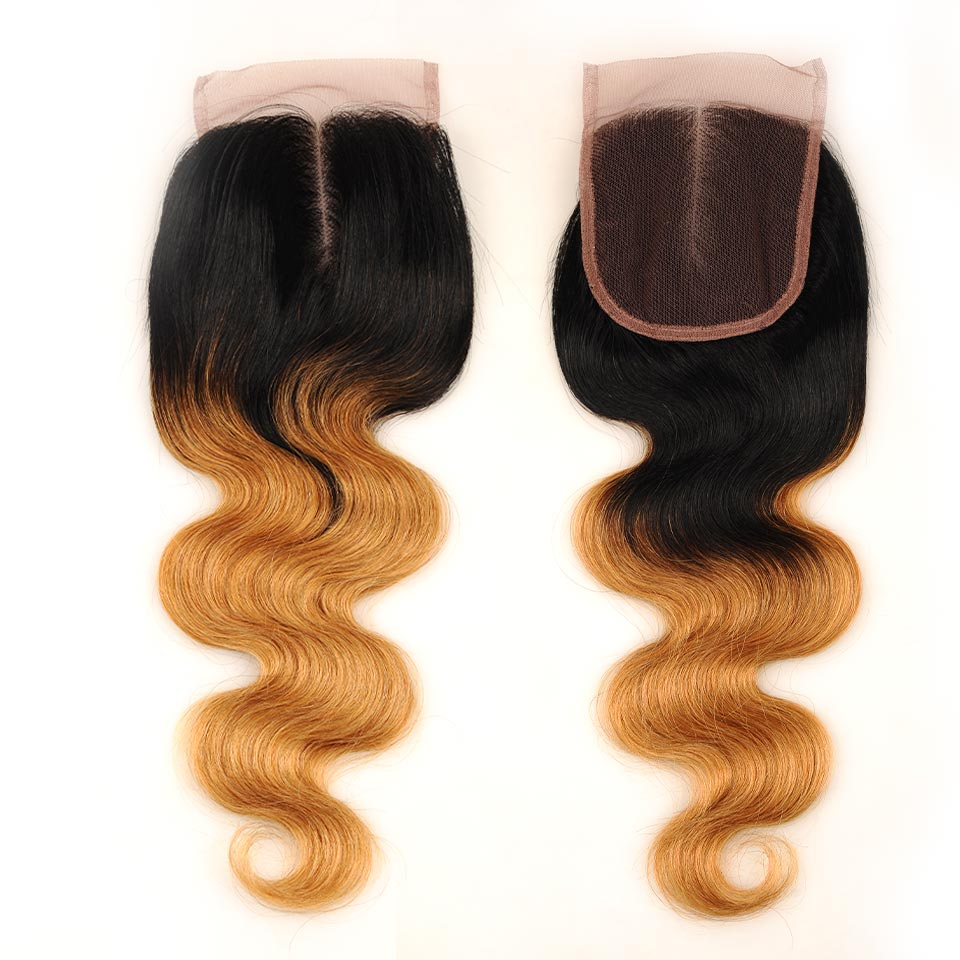Pinshair-Pre-Colored-Brazilian-Hair-Weave-Bundles-With-Closure-Ombre-T1B-27-Body-Wave-3-Bundles-With-Closure-Human-Hair-Non-Remy-(16)