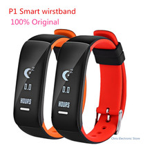 Mesuvida P1 Smartband Band Watch Blood Pressure Bluetooth Bracelet Heart Rate Monitor Smart Wristband for Android IOS Phone(China)