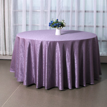 High Quality Mordern Polyester Round Table Cloth Fabric Rectangular Tablecloth Hotel Party Wedding Tablecloth(China)