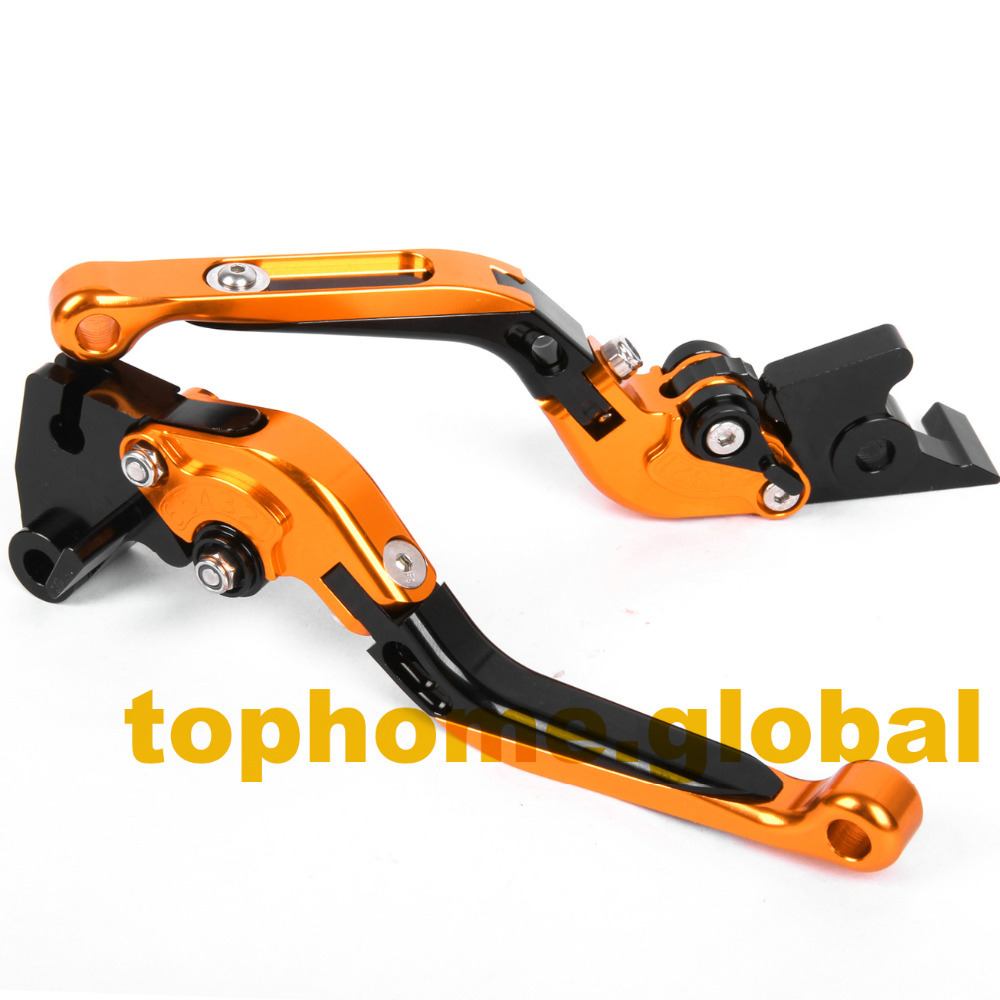 Motorcycle Accessories CNC Folding&amp;Extending Brake Clutch Levers For KTM Duke 125 Duke 200 2012-2015<br>