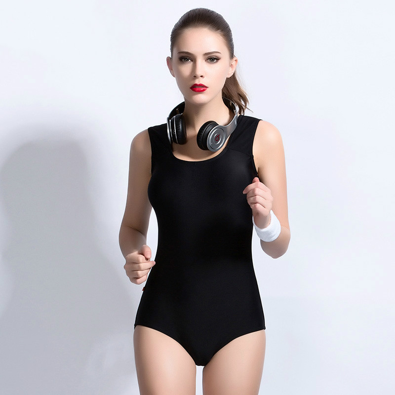 NIUMO New one-piece female conservative Hot spring bathing suit professional Triangle bathing suit<br>