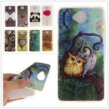 For Lumia 650 Painting Soft TPU IMD Silicone Phone Cover For Microsoft Nokia Lumia 650 N650 Back Skin Cover Cell Phone Case