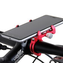 Gub G-86 Aluminum MTB Bike Bicycle Handlebar mobile Phone Gps Mount Holder Motorcycle For iPhone Samsung cycling Accessories G86(China)