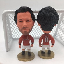 Soccerwe Soccer Figure Classic Series 11 Ryan Giggs Doll ( United 98-99 ) Red(China)