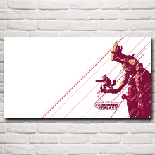Guardians of the Galaxy Star Lord Rocket Raccoon Marvel Comics Movie Art Silk Poster Home Decor Pictures Free Shipping