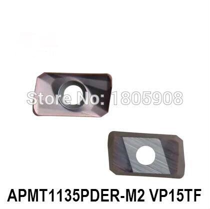 10pcs   APMT1135PDER-M2 VP15TF insert CNC blade milling cutter