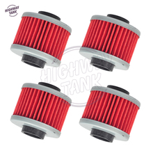 4 Pcs Motorcycle Engine Oil Filter case for Aprilia Leonardo Scarabeo For BMW 125 200 C1(China)