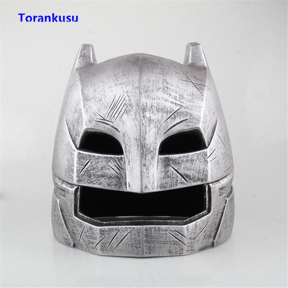 Batman v Superman: Dawn of Justice Batman Helmet Figure Cosplay Mask 1:1 PVC Model Man Gift For Birthday Doll Hot Toys Figma XP