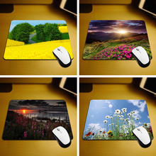 MaiYaCa Beautiful Spring Landscape Best Game Custom Mousepads Rubber Pad 18*22cm and 25*29cm Mouse Mats