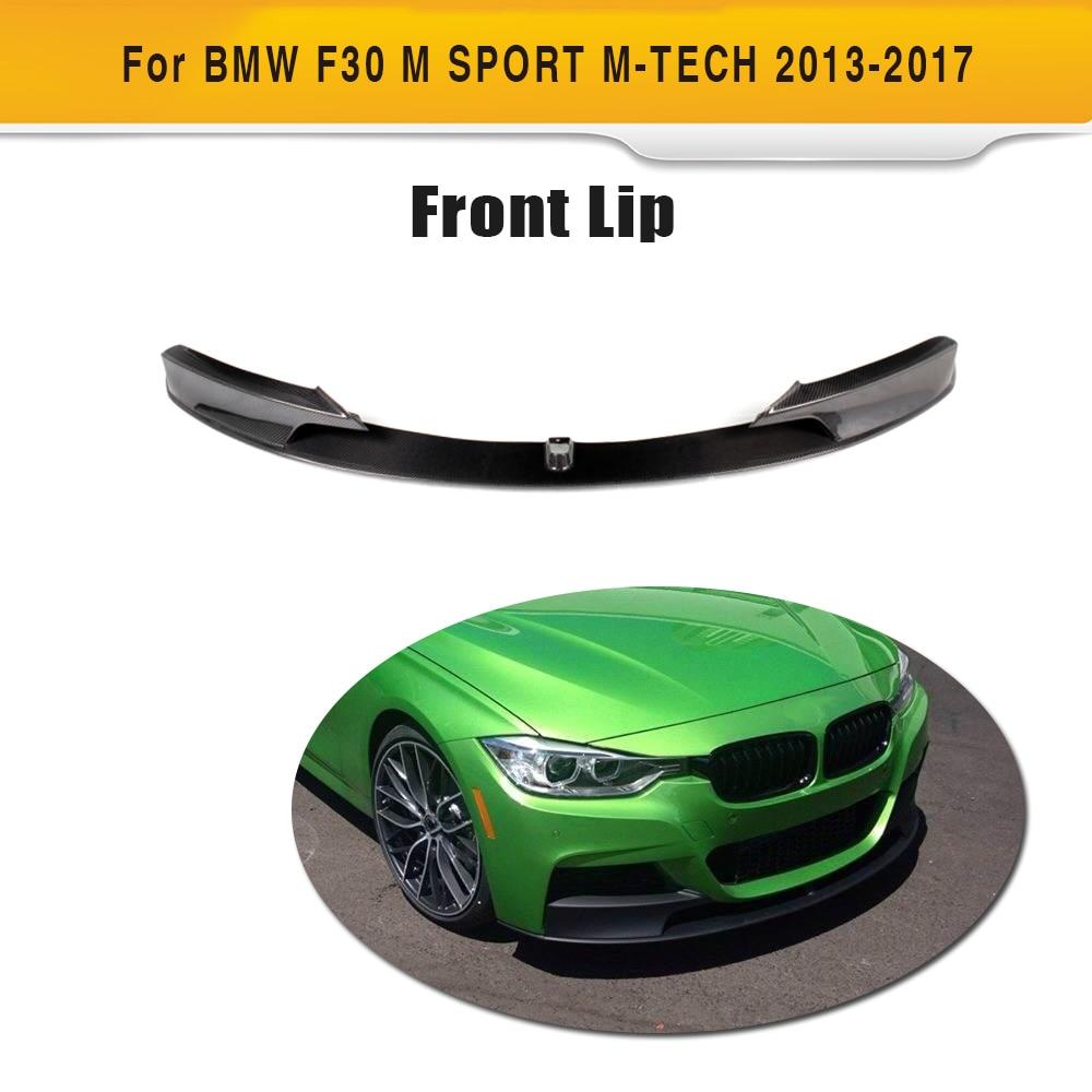 USパーツ 12-15 BMW F30 3シリーズ328i 335iセダン3DスタイルPUフロントバンパーリップスポイラー 12-15 BMW F30 3Series 328i 335i Sedan 3D Style PU Front Bumper Lip Spoiler
