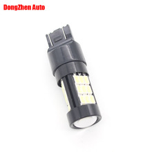 Canbus no error 7443 Led car bulbs 29 SMD 5730 Xenon White W21/5W 5W  lamp Bulbs car light source parking 1pcs car styling