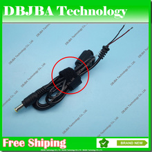 1PCS DC power cable 6.5x4.4mm 6.5*4.4mm with pin Power Supply Connector Laptop Charger For Fujitsu for Sony Adapter Jack DC Cord